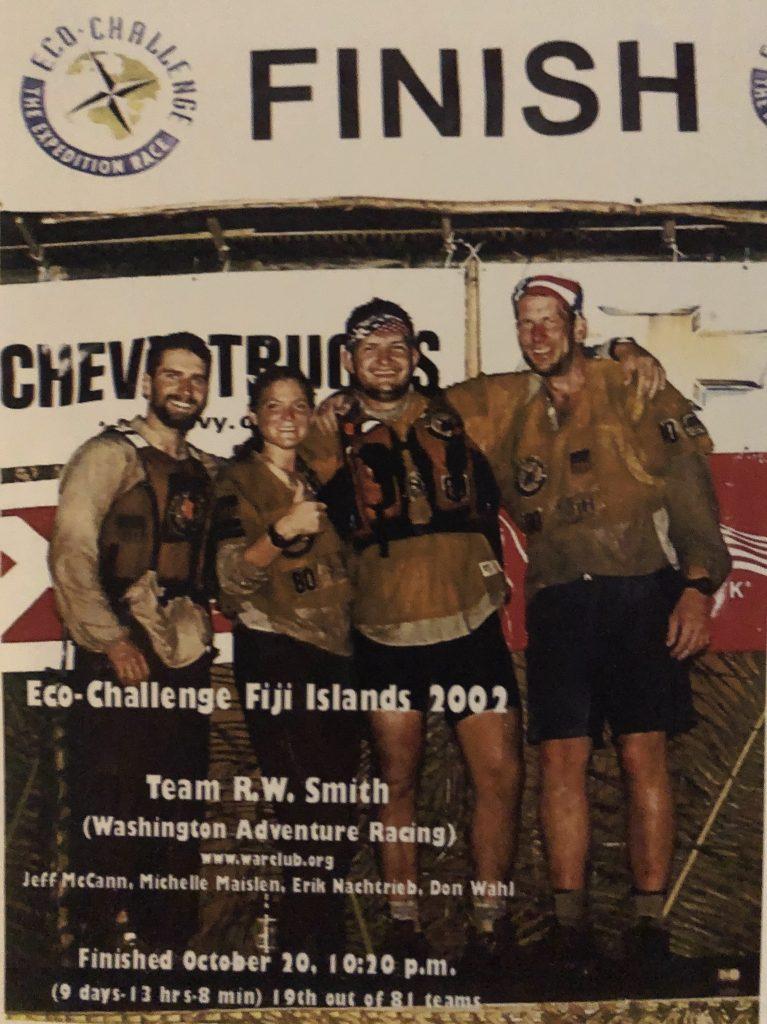 Jeff McCann Eco Challange Fiji